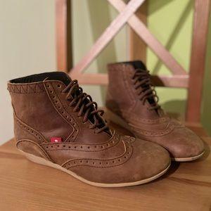 Oliberte leather booties
